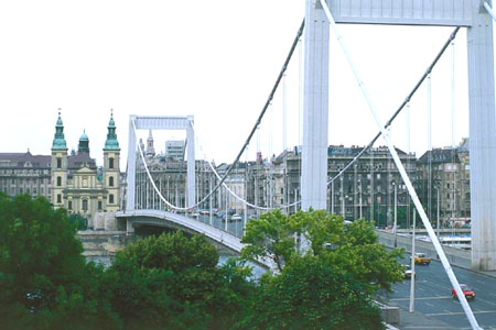 Budapest Foto 13 Ponte Elisabetta