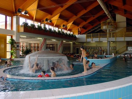 The small town of Zalakaros with its 1.500 inhabitants lies in the south-western region of Hungary, 40 km far from the Balaton. The settlement has been well known for the remarkable medicinal thermal bath which is the warmest spa in Hungary with its water of 96 °C.